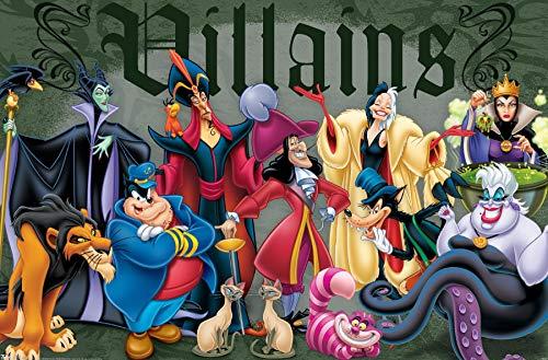 """Trends International Disney Villains Wall Poster 22.375"""" x 34"""""""