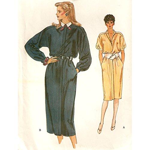 Vogue 8731 a Maternity Jumper Dress Pattern 6-10