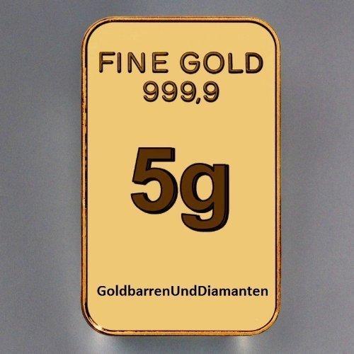 goldbarren (5 Gramm)