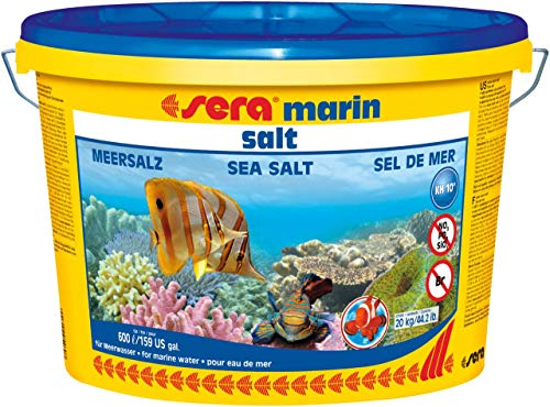 sera Marine Aquarium Zee Zout 20Kg koraal rif invert vis tank voor 600 lt