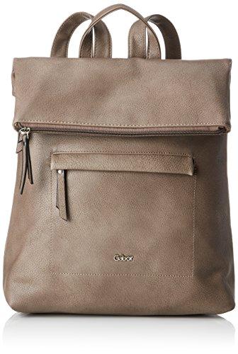 Gabor bags MINA Damen Rucksack M, Taupe, 29x13x34