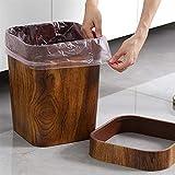 bxm Cubo de basura de 4 litros para cocina, cubo de basura grande para el hogar,...