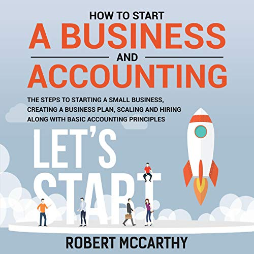 How to Start a Business and Accounting cover art