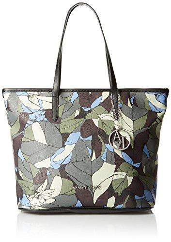 Armani JEANS donna borsa shopping 922028 6A714 18940 FANTASIA