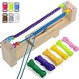 Zacro Jig Bracelet Maker avec 6 Cordes de Parachute et 6 Boucles - Tisseur de...