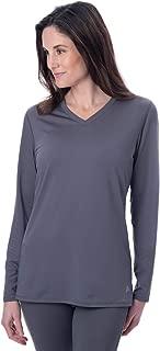 Women's Instant Cooling Long Sleeve V-Neck Shirt