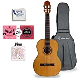 Antonio Giuliani Classical Mahogany Guitar Outfit (CL-5) - Acoustic Guitar with Case and Accessories By Kennedy Violins
