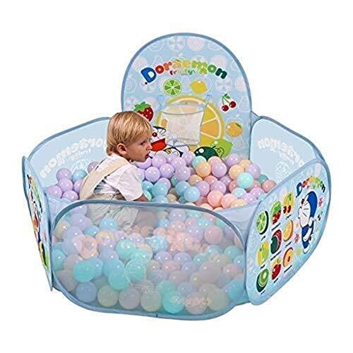 Parc à bébé, Jouer Fence for enfants Sécurité for bébé Garde-corps Barrière for bébé Aire de jeux extérieure Clôture des enfants Toy (Color : Blue)