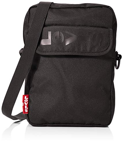LEVIS FOOTWEAR AND ACCESSORIES homme L Series Cross Body 2 Besace Noir (Noir)