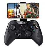 🎮 [Dual Wireless Technology Supports Android & Windows] The CLAW Shoot Controller easily pairs via Bluetooth with Android Mobiles, Tablets, Smart TVs and TV box, whereas the PC mode uses the included 2.4Ghz Wireless USB dongle. 🎮 [Button Mapping for ...