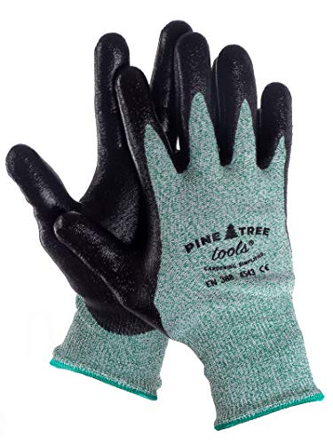 Ultra Strong Mens Safety Work Gloves - For Outdoor Working and Mechanic - with Advanced Firm Grip, Anti Slip Tech - Durable, Cool and Comfortable - Men's Safety Work Gloves. M, L, XL (1Pack M).