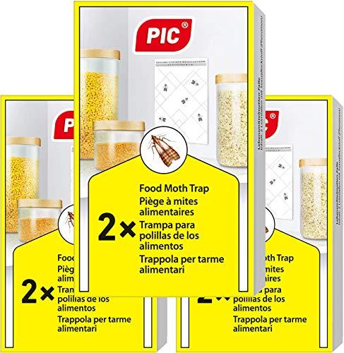 PIC Trampa para Polilla de despensa 6X Piezas - Medios de
