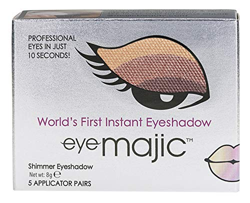 Eye Majic - Instant-Lidschatten - leichtes, professionelles Make-up in 10 Sekunden - 5 Paar - Wild...