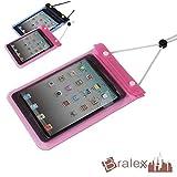 BRALEXX Universal Wassertasche passend für Acer Iconia Talk S A1-724, Pink, 7 Zoll