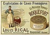 Générique Roquefort - Póster de Queso de Louis Rigal Reproducción de Papel...
