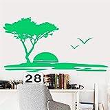 zqyjhkou Customizable Name Tableware Food Vinyl Sticker Kitchen Restaurant Home Decor DIY Removable Wall Sticker55x118cm