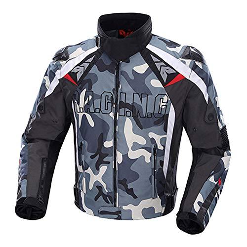 Racing pak Motorfiets Riding Motorfiets Kleding Motorfiets Shatter-resistente pak Vier seizoenen Riding Suit Heren Motorfiets Jas Motorjas Textiel Mannen en Vrouwen Motorjas L Blauw