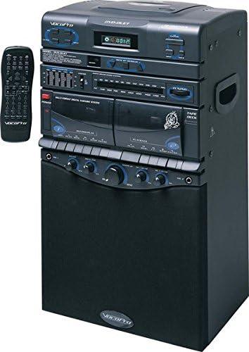 VocoPro Denver Mall DVD-Duet 80W CD Dual Dealing full price reduction AM FM Cassette System Karaoke