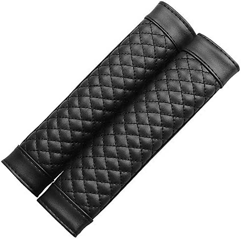 jianzhong 2 PCS famous Leather Car Seat Belt PU Generic Cover Soft Branded goods