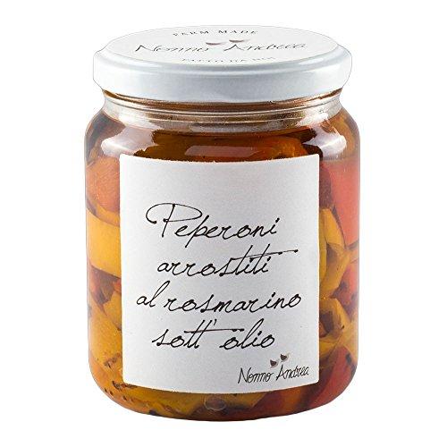 Pasticceria Passerini dal 1919 Conserva de pimientos asados en Aceite con Romero - 390 gr