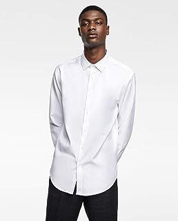 c7dd64ed Zara Man Premium Textured Wave Slim Fit Shirt Large.