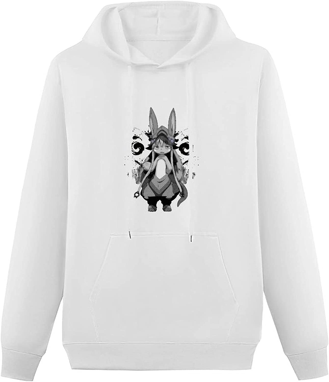 Made in Abyss Teen Hooded Sweatshirt,Simplicity Pullover Hoodie Sweater for Boys Girls
