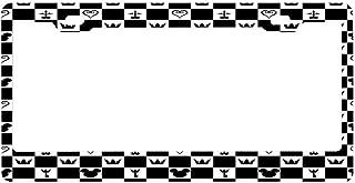 License Plate Frame for Women, Custom License Plate Frames,License Plate Holder,Cute Decorative License Plate Frame
