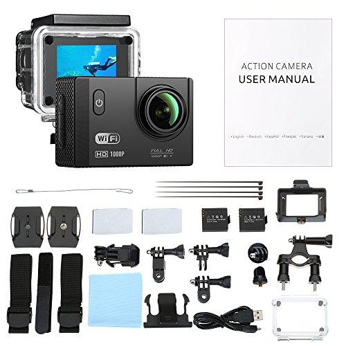 VTIN Action Kamera WIFI VTIN Full HD 1080P Sport Action Camera Cam Wasserdicht - 7