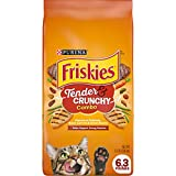 Purina Friskies Dry Cat Food, Tender & Crunchy Combo - 6.3 lb. Bag