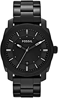 FOSSIL MENS MACHINE STAINLESS STEEL WATCH - FS4775IE
