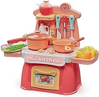 Kitchen Playset Kids Kids Kitchen Playsets med lampor och ljud för pojkar Flickor, Spela köket Kidkraft Stor leksak ... Ji...
