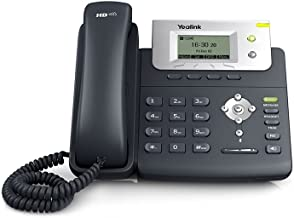 Ooma Office Provisioned Yealink Sip T21P 2 Line Business IP Desk Phone Works with Ooma Office cloud based VoIP phone service for small business with virtual receptionist ext dialing ring groups