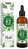 Vitamin K2 Tropfen 200µg 75ml - 2500 Tropfen K2 MK-7-99
