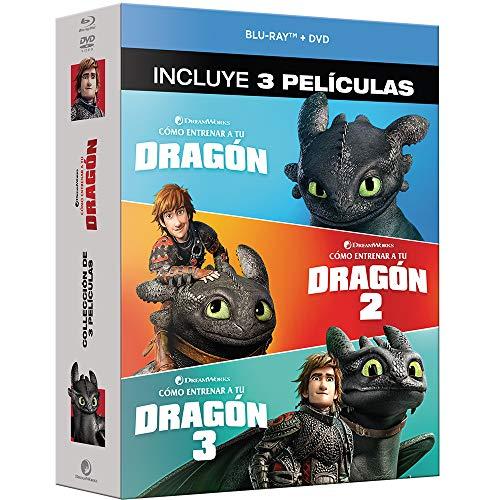 Cómo Entrenar a tu Dragón Trilogía [Blu-ray]