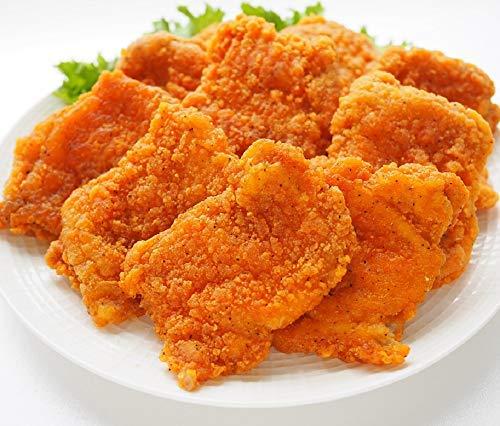 [スターゼン] フライドチキン 骨なし 冷凍食品 大容量 業務用 チキン タイ産 鶏肉 鶏モモ 簡単 時短 電子レンジ パーティー (10個入り( 800g))
