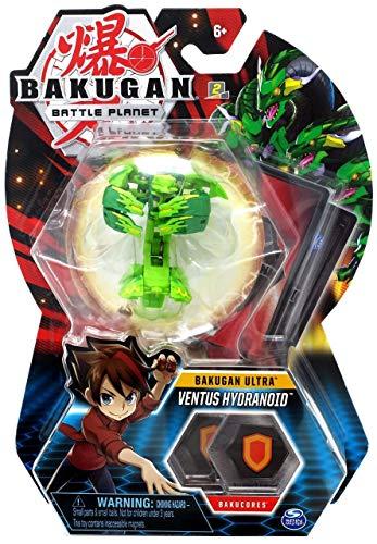 BAKUGAN Deluxe 1 Pack 3 Inch Figure Ventus Hydranoid