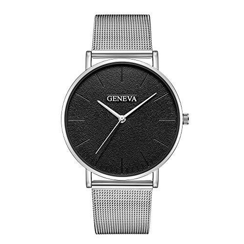 Uhren für Frauen Reloj Mujer Geneva Brand Damenuhren Slim Rose Gold Armbanduhr Mode Stahl Mesh Armband Damenuhr relogio femino