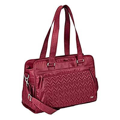 Lug Caboose Carry All Bag, Cranberry Red, One Size