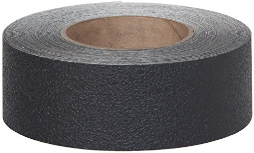 """Safe Way Traction 2"""" X 12' Foot Roll of Black Resilient Rubberized Anti Slip Non Skid Safety Tape 3510-2-12 Made in the USA"""