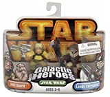 Hasbro 85396 Star Wars Galactic Heroes Mini-Figure 2 Pack - Skiff Guard & Lando Calrissian