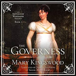 The Governess audiobook cover art
