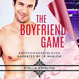 The Boyfriend Game                   By:                                                                                                                                 Stella Starling                               Narrated by:                                                                                                                                 J. R. Warlow                      Length: 8 hrs and 14 mins     125 ratings     Overall 4.7