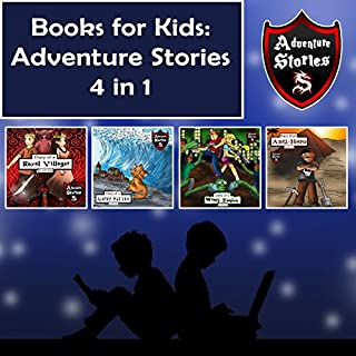 Books for Kids: Children's Diaries with Action and Adventure cover art