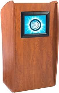 Oklahoma Sound 612-CH Basic Vision Podium with Digital Display, 24