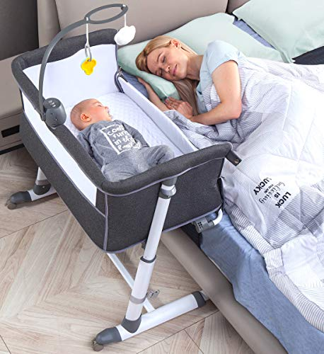 (51% OFF Deal) Bedside Crib/Bassinet with Wheels – newborn infants $146.99