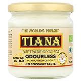 TIANA FairTrade Organics Mantequilla de coco puro en 350 ml (paquete de 2)