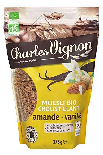 Muesli croustillant bio amandes - Le sachet de 375g Charles Vignon
