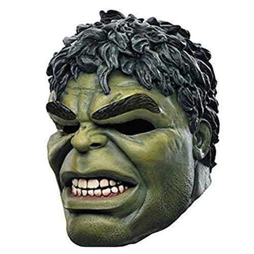 XPRINT Máscaras De Halloween Máscara De Hulk Accesorios De