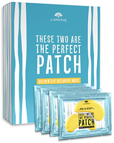 Under Eye Patches Anti Wrinkle Under Eye Mask - Reduces Fine Lines, Removes Dark Circles, Smooths and Refreshes your Face Skin - Natural Anti-aging Bags Puffiness Treatment Pads