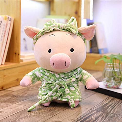 N / A Pajamas Pig Cute Pig Plush Toys High-End Creative Piggy Gifts in Pajamas Soft Doll Pillow Decoration Children's Gifts 30CM